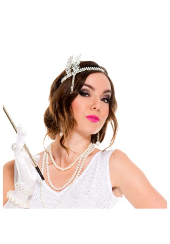 Silver Flapper Headpiece