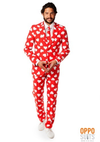 Mens Mr. Lover Heart Suit