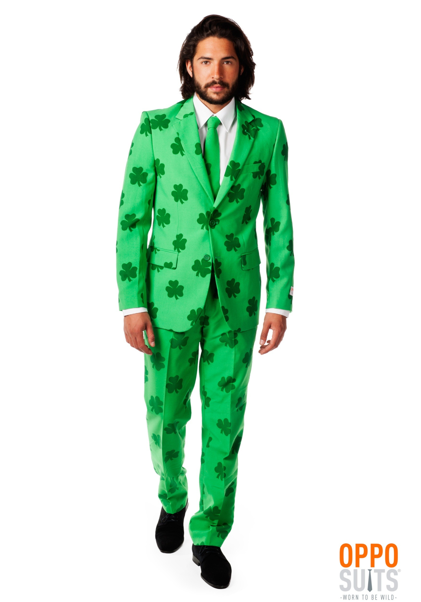 a2a0a31a1ea406 Mens OppoSuits Green St. Patrick's Day Costume Suit