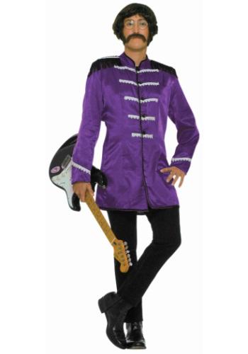 Adult Purple British Explosion Costume