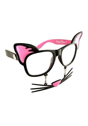 Cat 'Stache Glasses