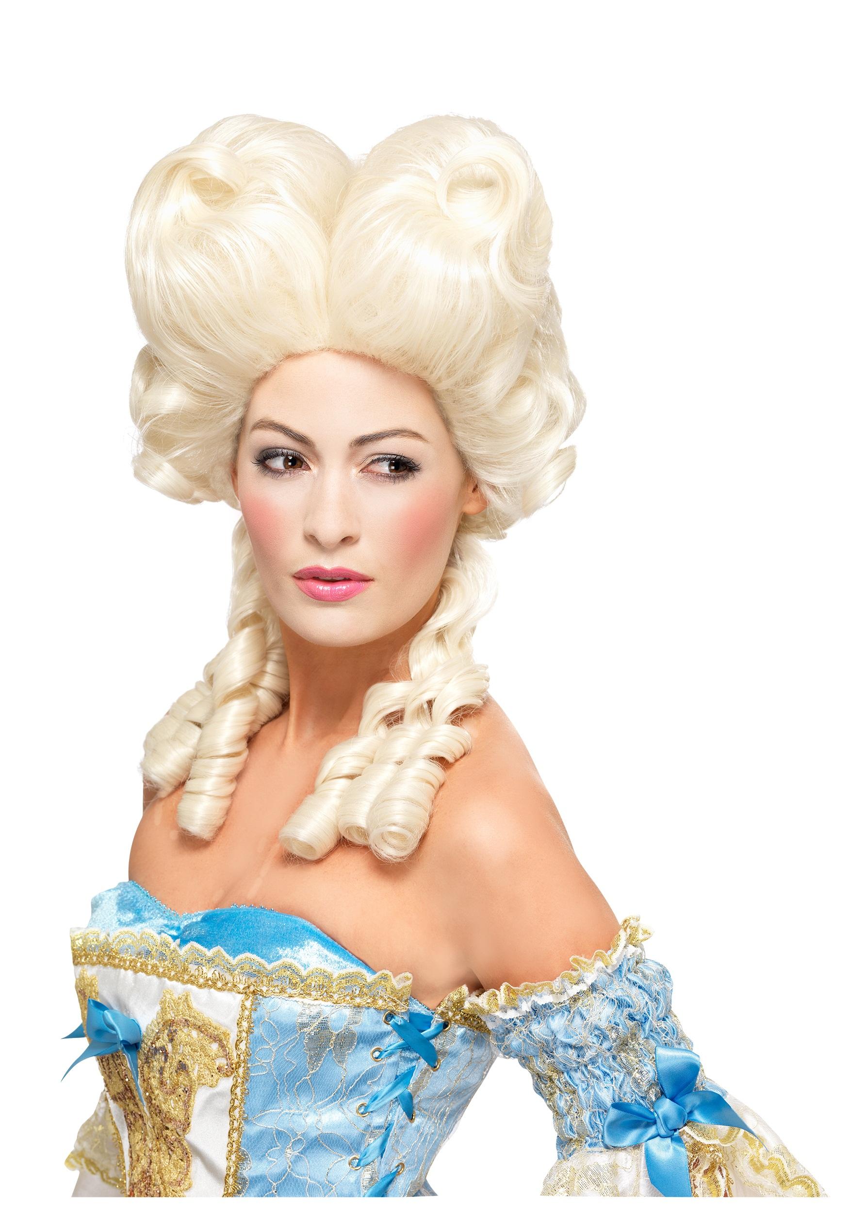 это парики эпохи императрицы фото каждой куклы