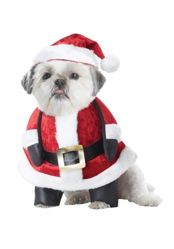 Santa Pup Dog Costume