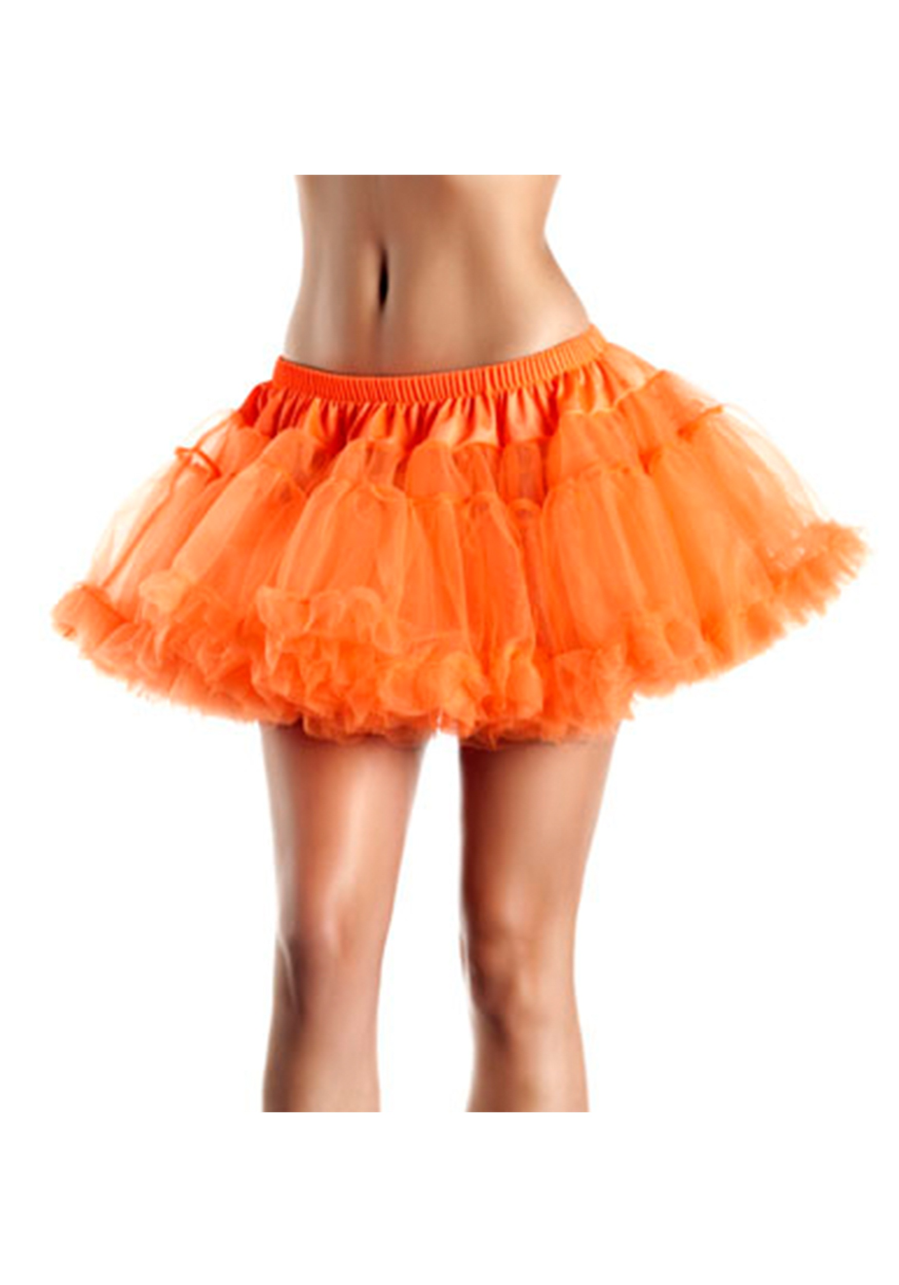 "12""_Orange_2-Layer_Petticoat"