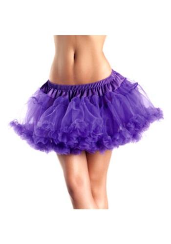 """12"""" Purple 2-Layer Petticoat"""