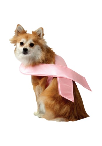 Pink Ribbon Dog Costume