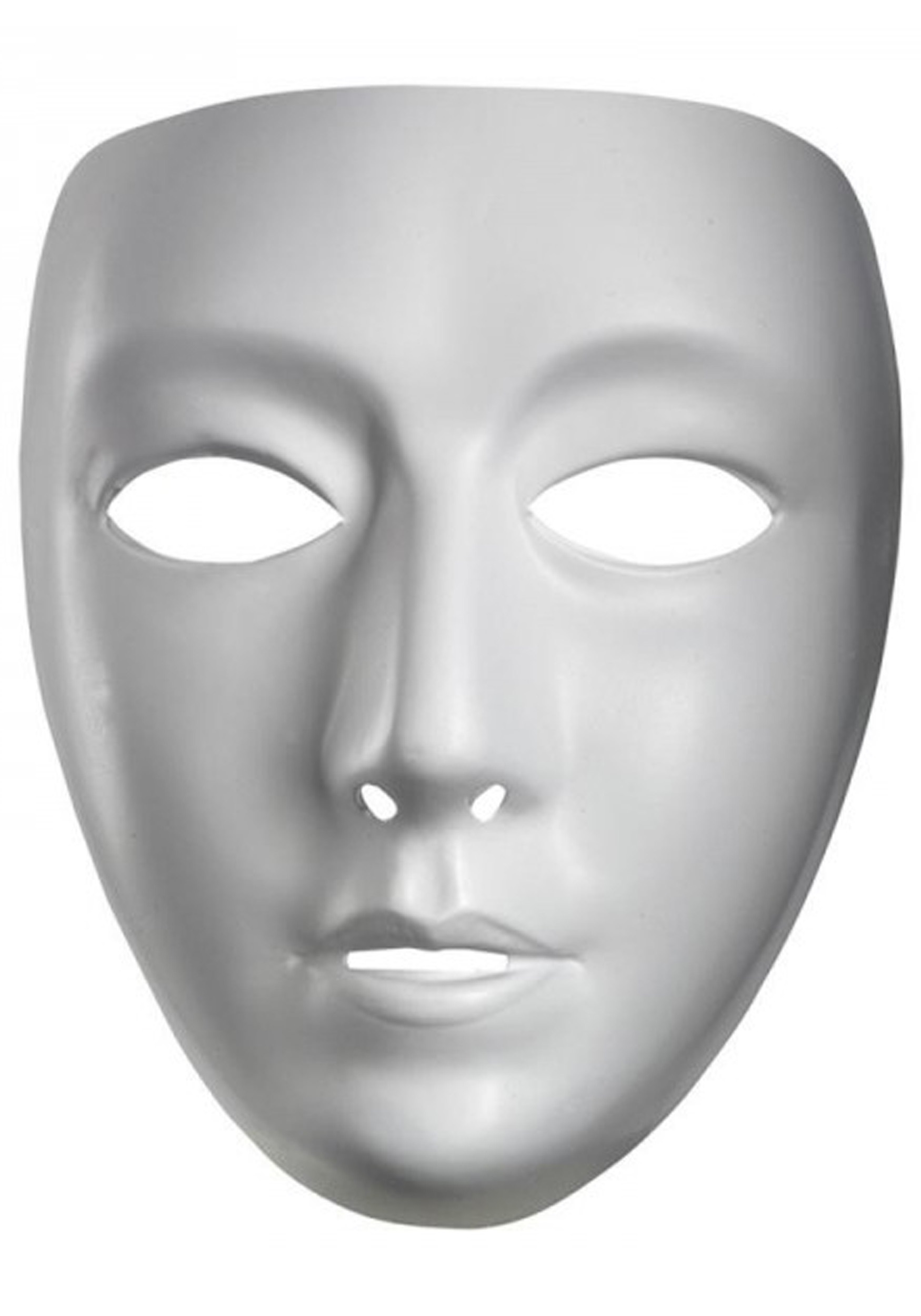 Blank female mask for The mask photos gallery