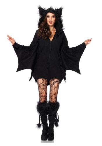 Plus Size Cozy Bat Adult Costume
