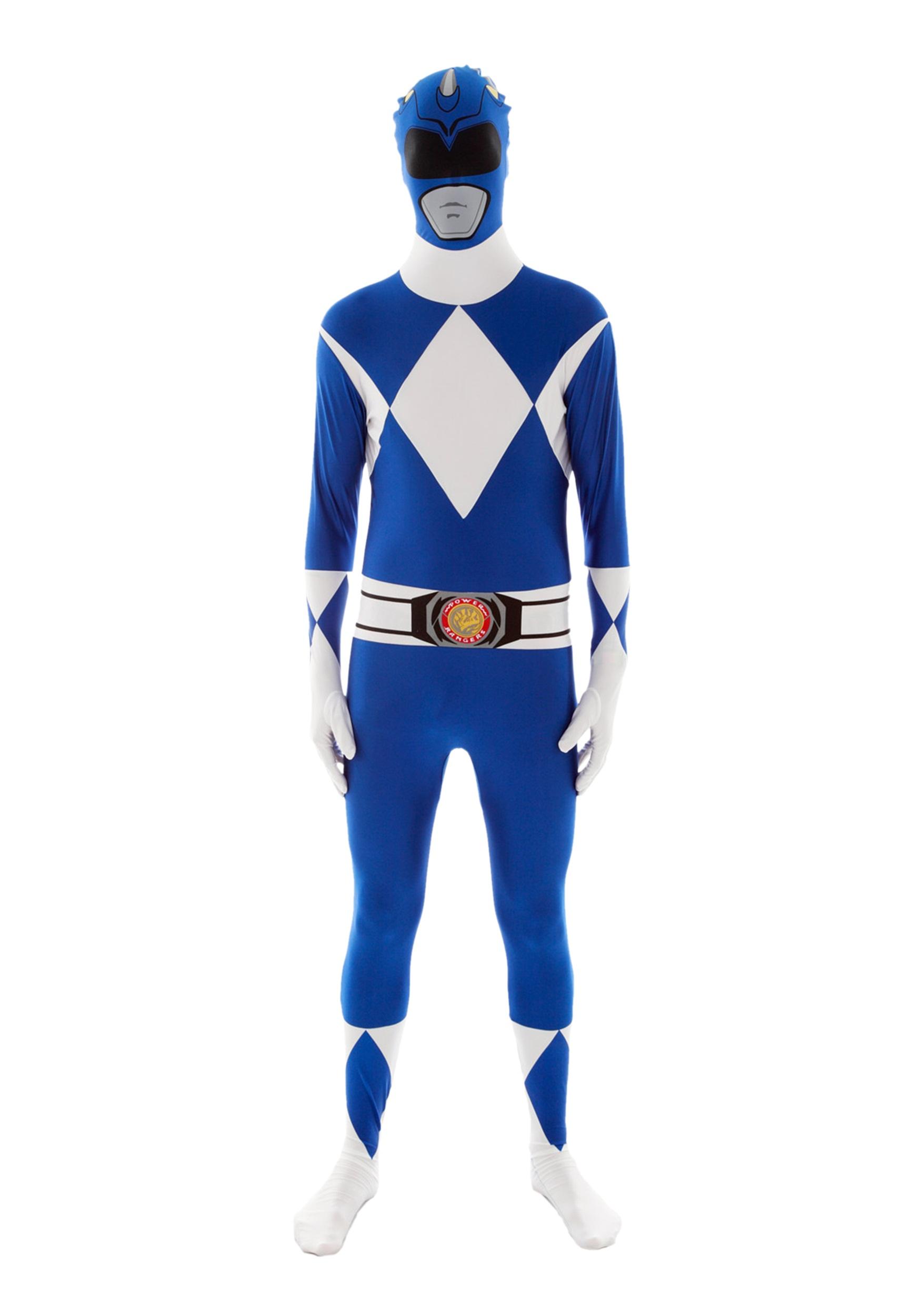 Power Rangers Blue Ranger Morphsuit  sc 1 st  Halloween Costumes UK & Adult Power Rangers Costumes - Adult Mighty Morphin Power Ranger Costume