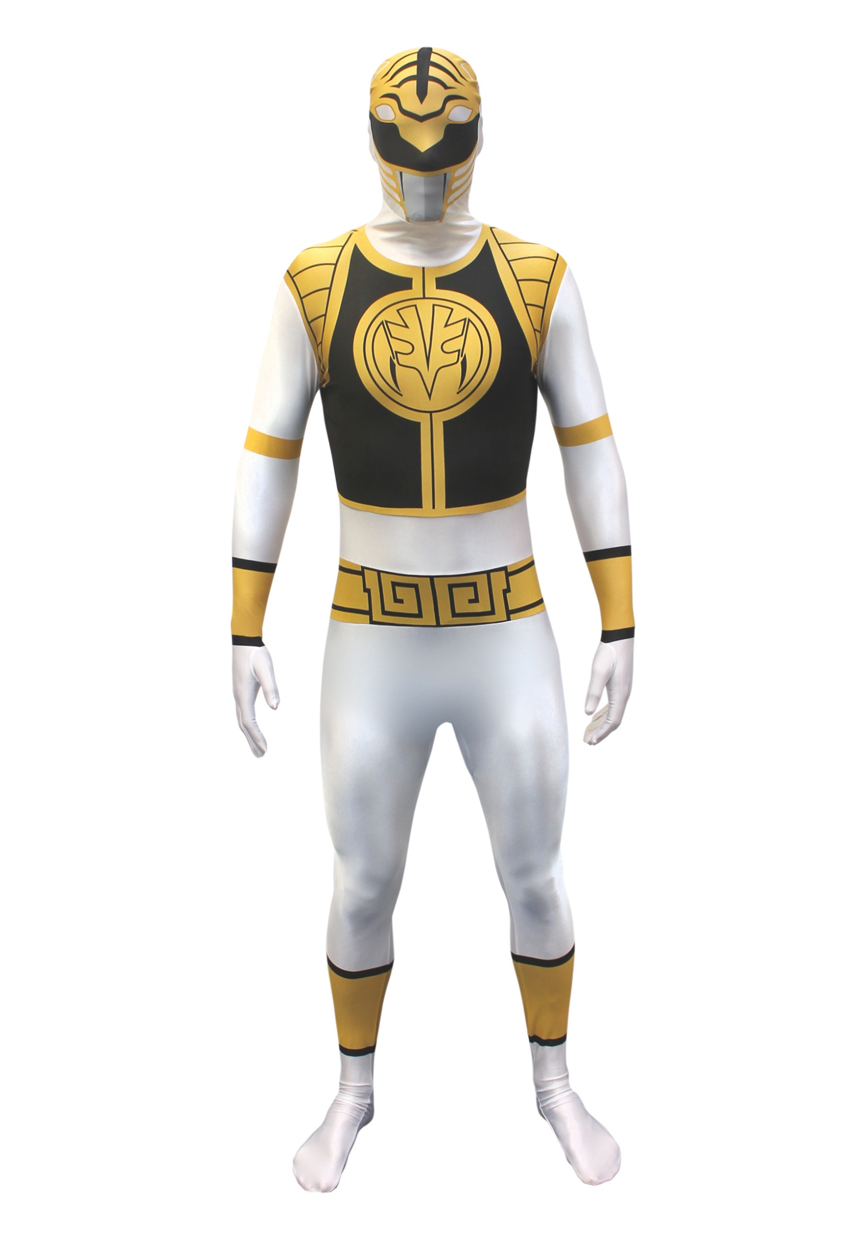 Power Rangers White Ranger Morphsuit  sc 1 st  Halloween Costumes UK & Power Rangers Costumes - Blue Power Ranger Costume