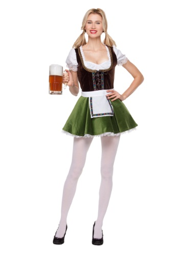 Womens Bavarian Girl Costume