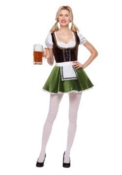 Womens Bavarian Girl Costume