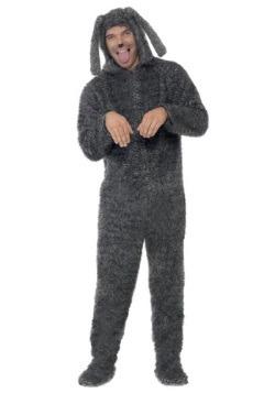 Plus Size Fluffy Dog Costume