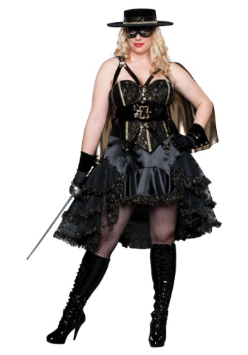 Plus Size Beautiful Bandida Costume