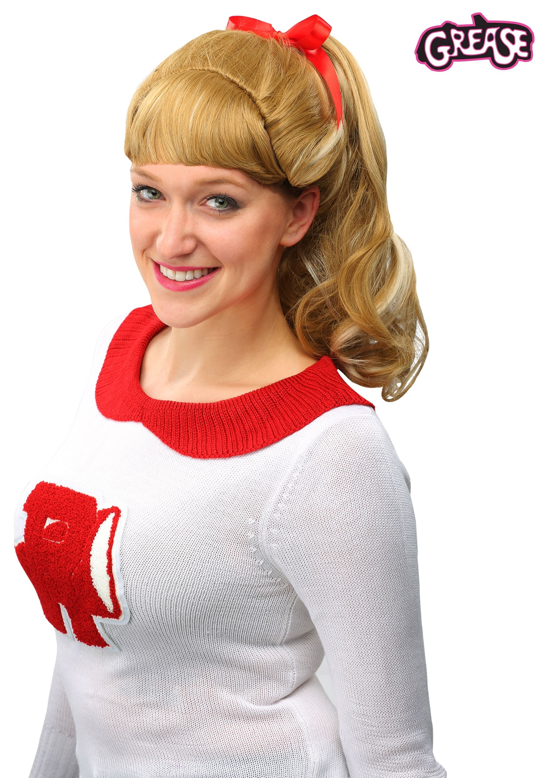Grease Good Sandy Wig  sc 1 st  Halloween Costumes UK & Grease Costumes - Adult Kids Grease Movie Costume