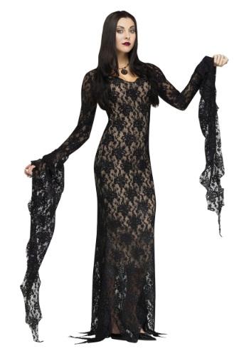 Lace Morticia Adult Costume