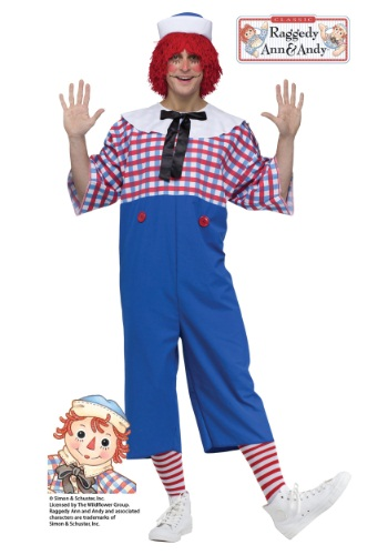 Raggedy Andy Adult Costume