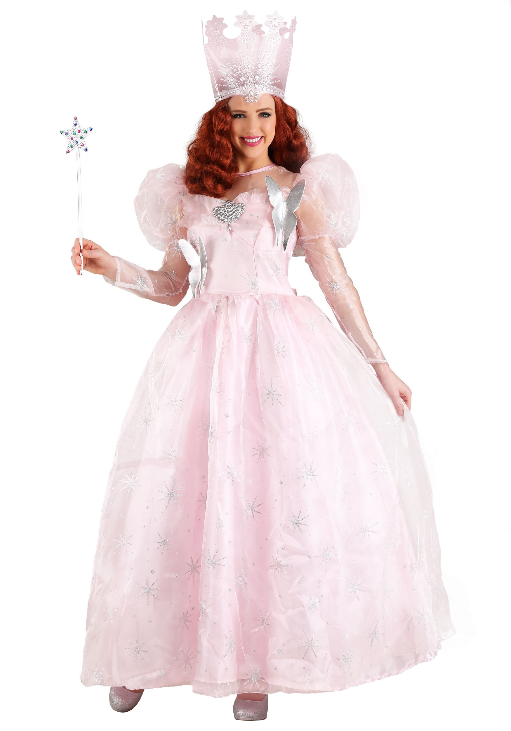 Plus Size Deluxe Gilnda the Good Witch Costume  sc 1 st  Halloween Costumes UK & Storybook u0026 Fairytale Costumes - Adult Kids Fairy Tale Character ...