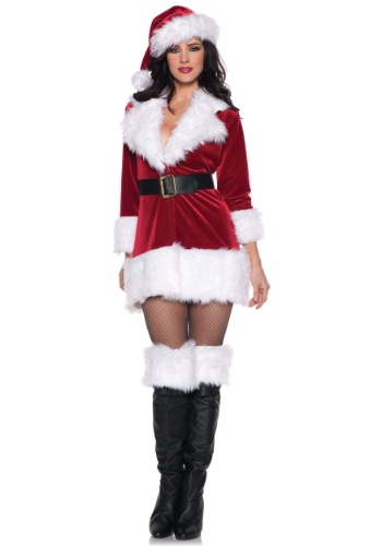 Plus Size Secret Santa Costume