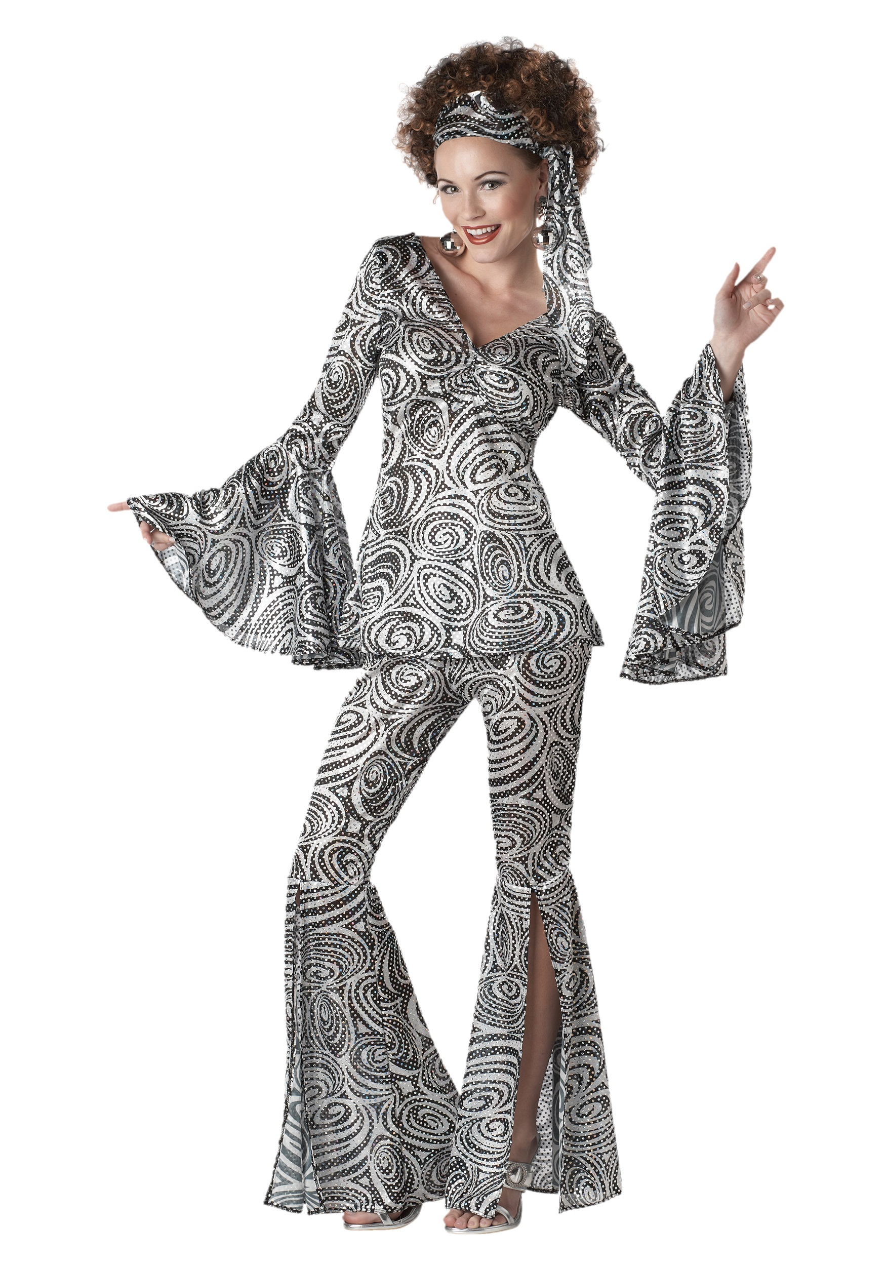 Womens Foxy Lady Disco Costume