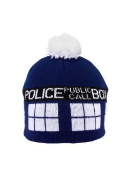 TARDIS Pom Beanie