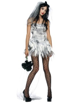 Plus Size Sexy Zombie Bride Costume