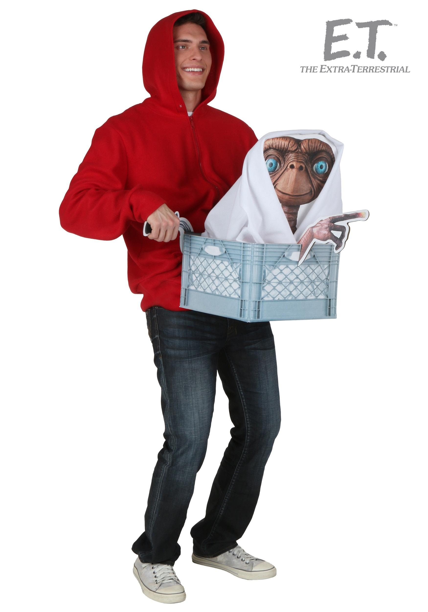 Adult E T Elliott Costume Kit