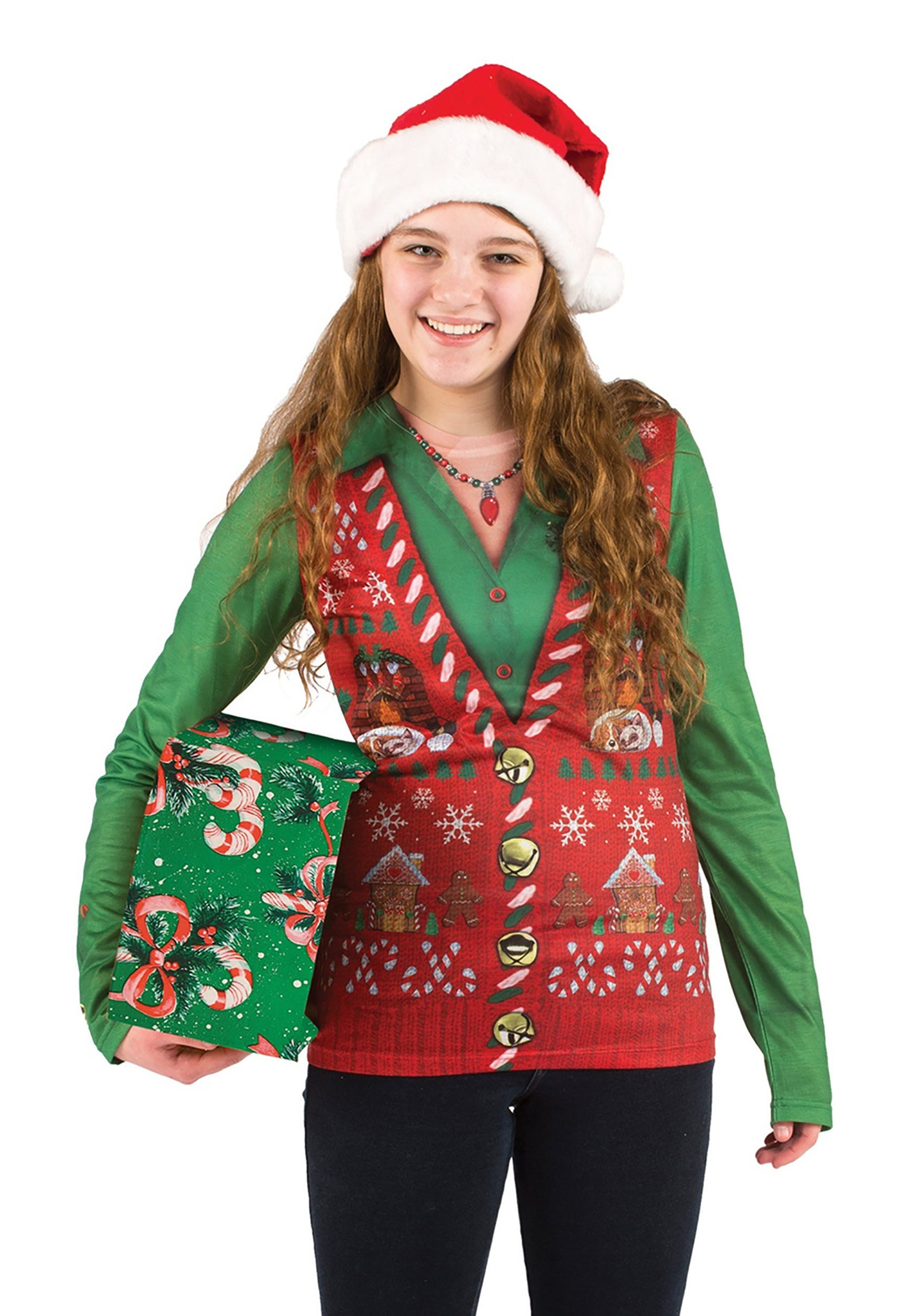Gone are the days of raiding our grandparents' and parents' closets for ugly Christmas sweaters. Online retailers have caught on that our want for more and more kitschy Christmas attire, doesn't appear to be going anywhere soon.