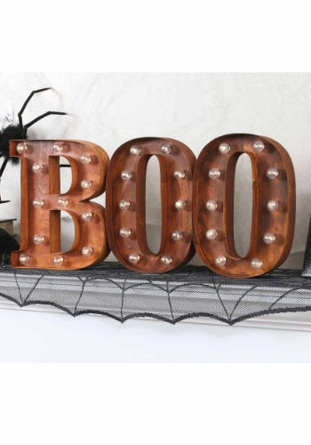 """Lighted BOO Sign Letter """"B"""""""
