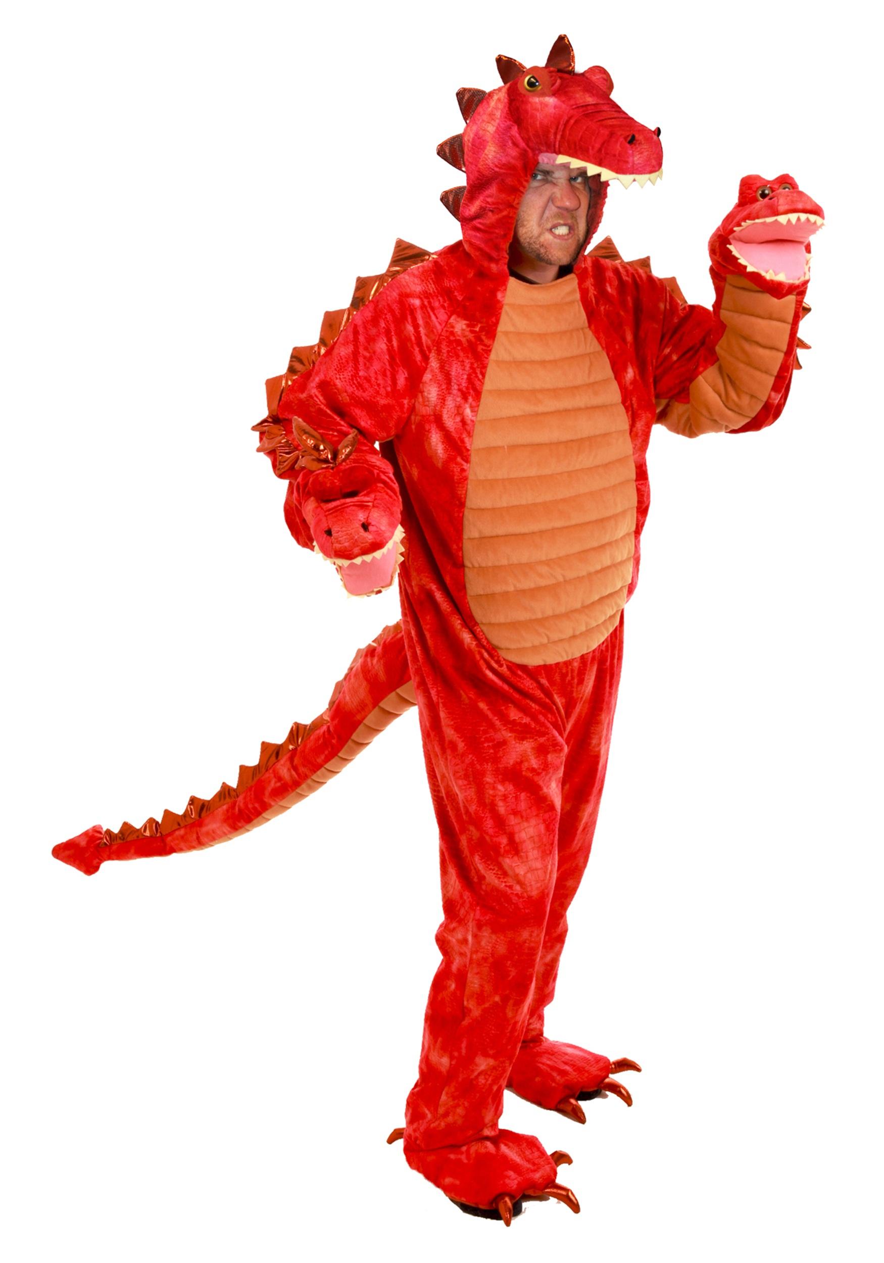 Adult Hydra Red Dragon Costume