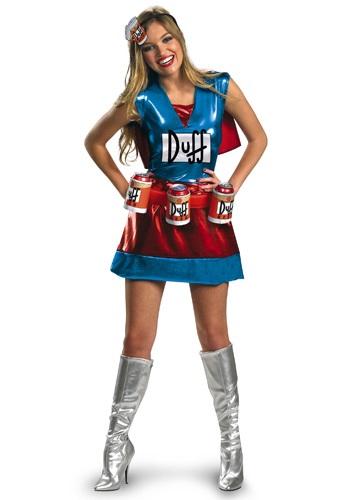 Sexy Duffwoman Costume