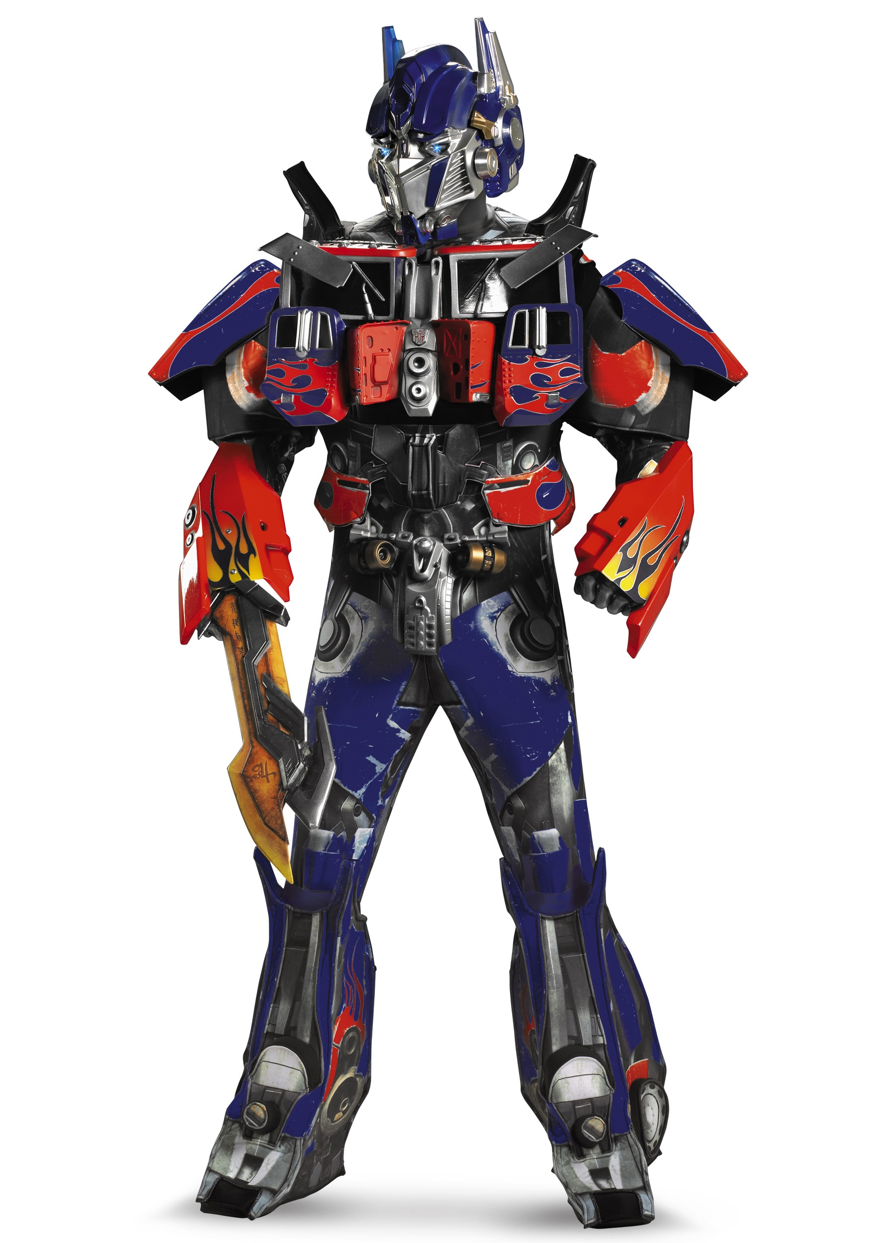 Adult Authentic Optimus Prime Costume  sc 1 st  Halloween Costumes UK : transformer costumes for adults  - Germanpascual.Com