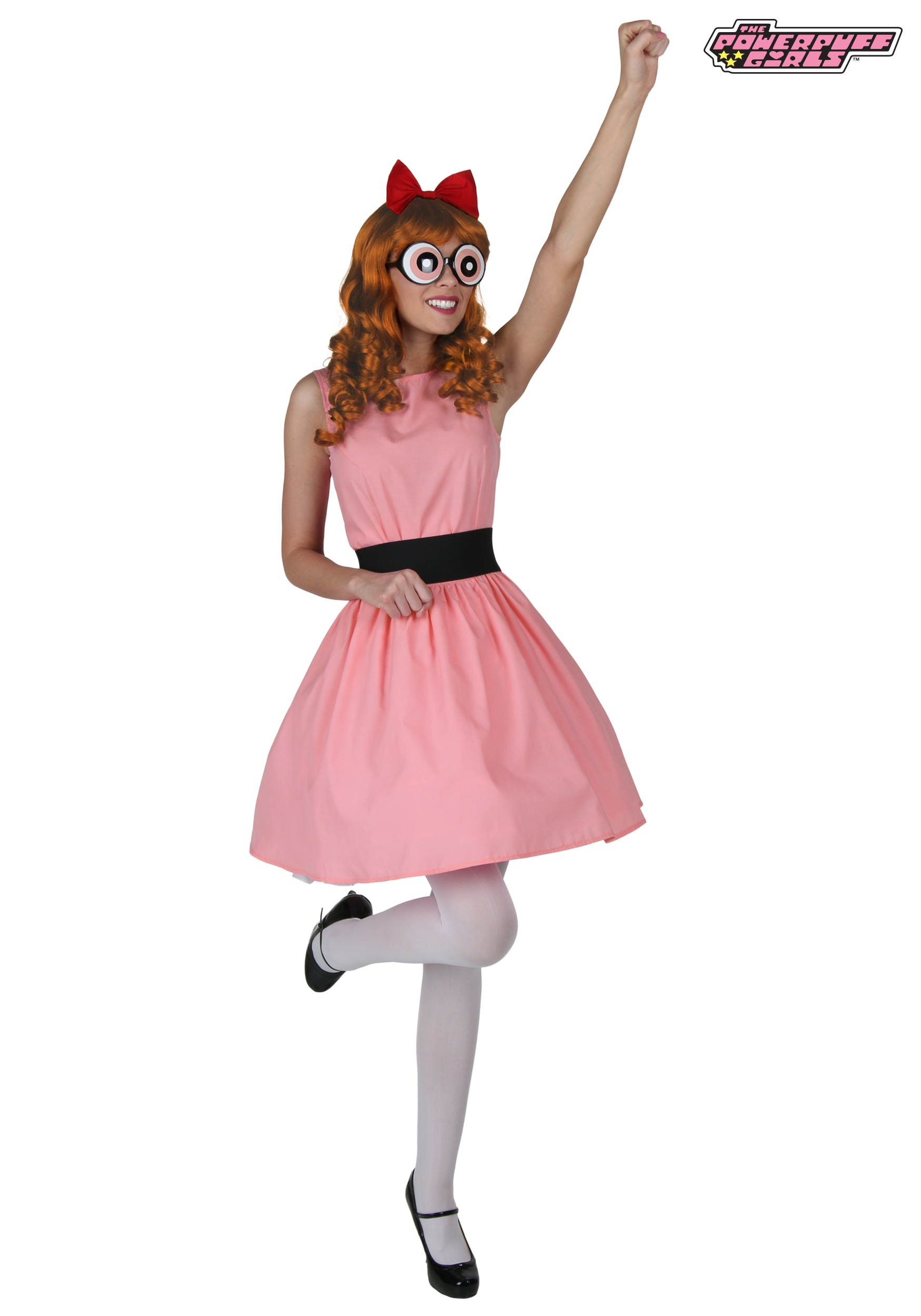 plus blossom powerpuff girl costume alt1