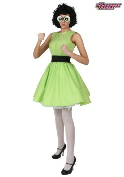 Plus Buttercup Powerpuff Girl Costume