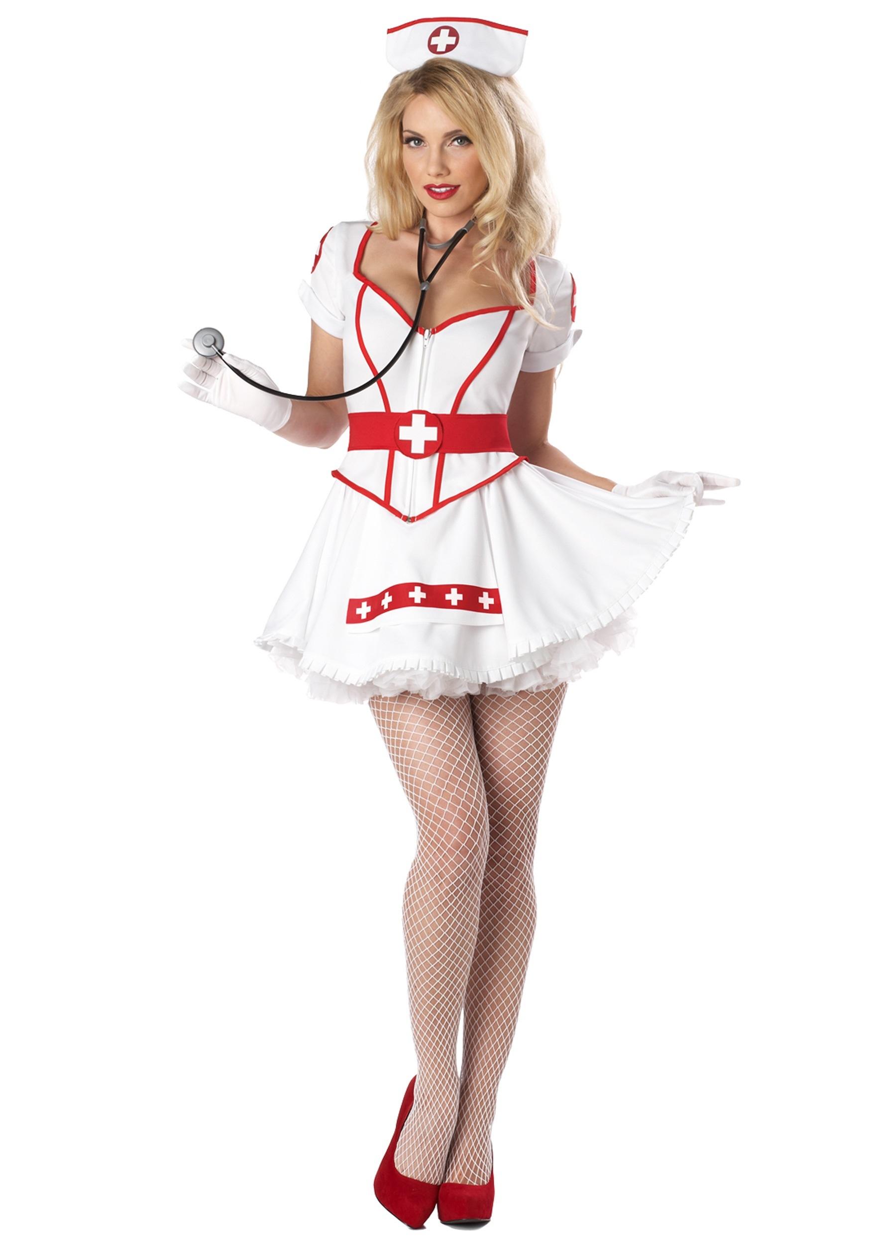 Women Nurse Uniform Costume Women Nurse Uniform Funny Christmas Cosplay Costume
