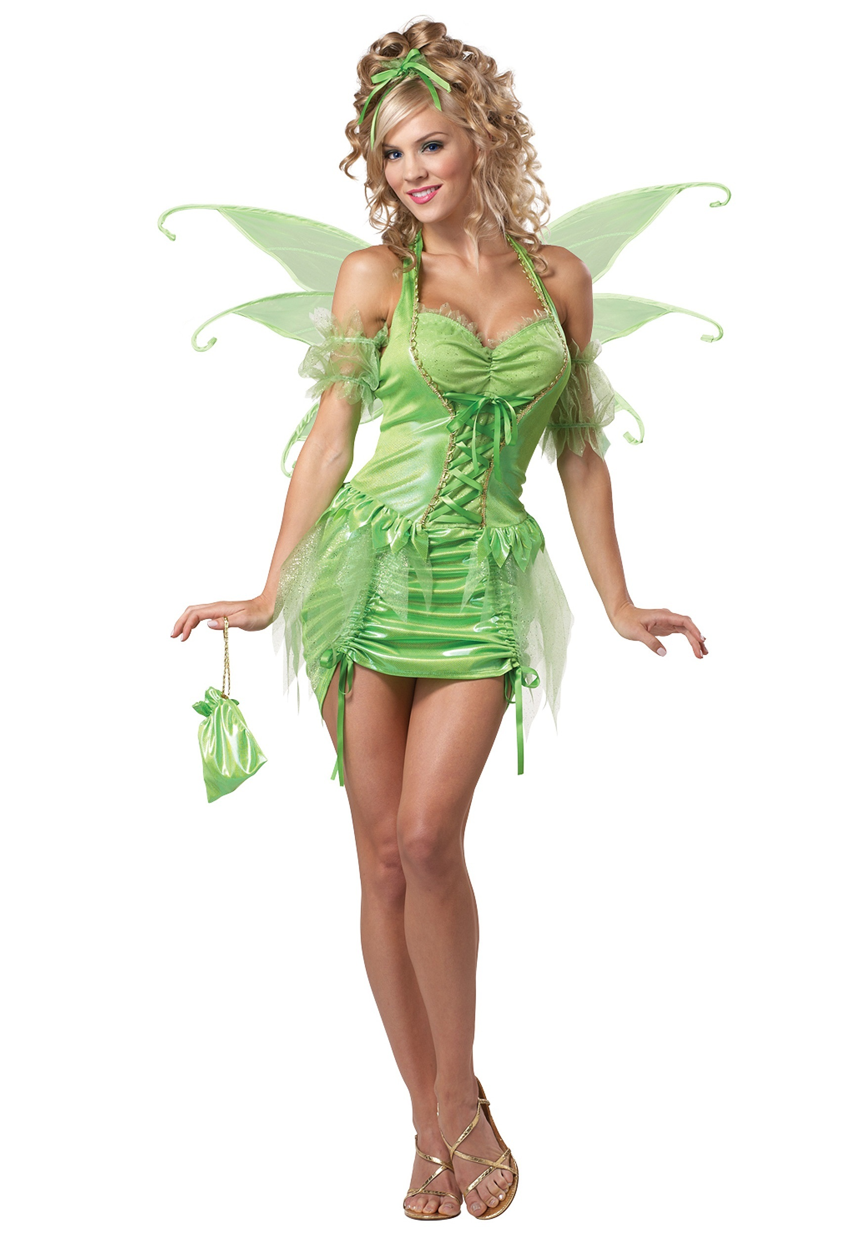 Womens Plus Size Tinkerbell Fairy Costume  sc 1 st  Halloween Costumes UK & Womenu0027s Plus Size Tinkerbell Fairy Costume