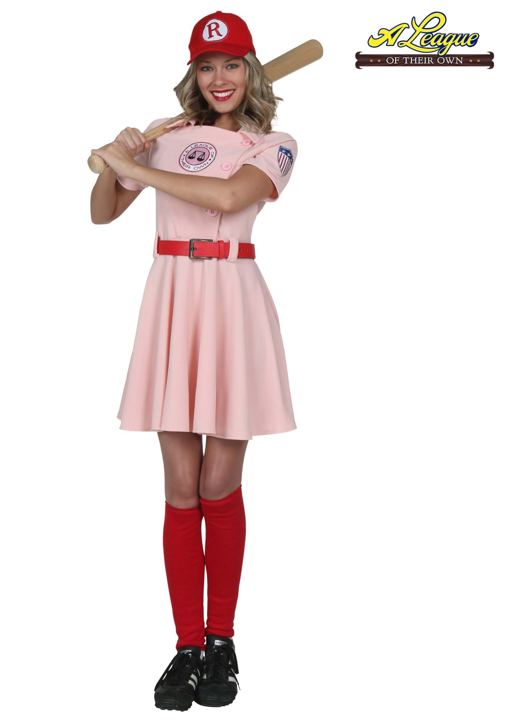 Sports costumes sexy sport costume for adults a league of their own deluxe dottie costume solutioingenieria Image collections