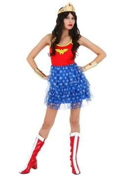 Wonder Woman Mini Skirt Dress