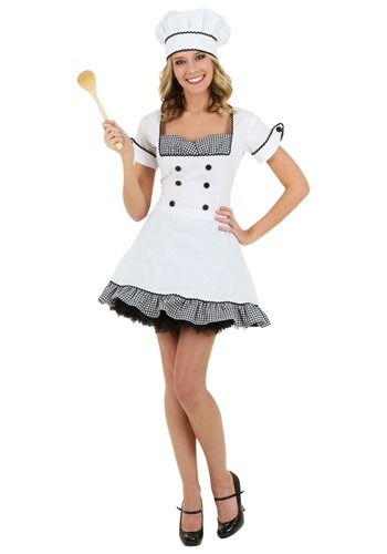 Plus Size Sexy Chef Costume