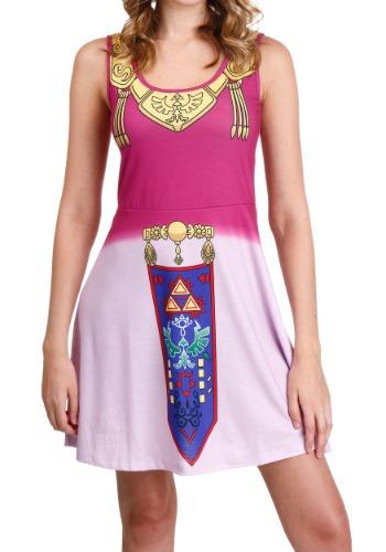 Legend of Zelda I Am Zelda Skater Dress