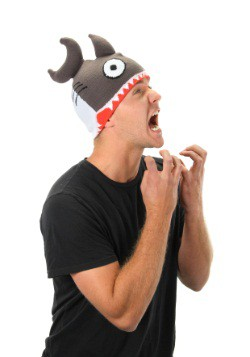 Knit Shark Hat