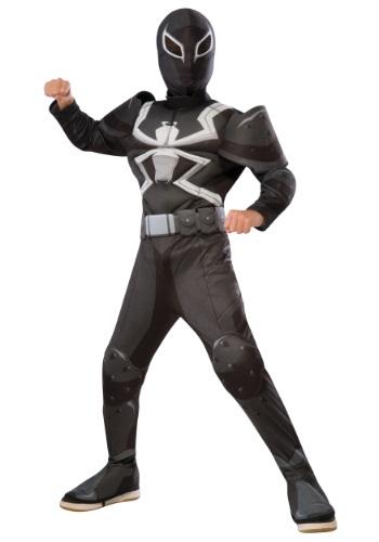 Child Deluxe Agent Venom Costume
