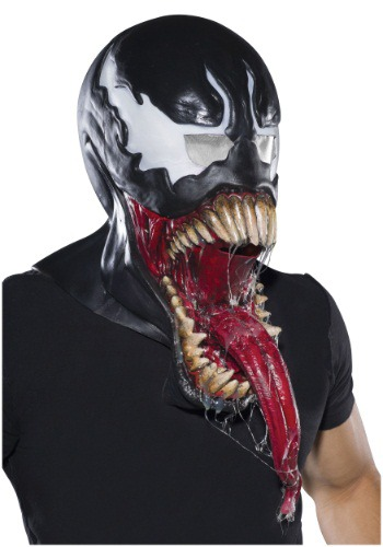 Adult Deluxe Venom Latex Mask
