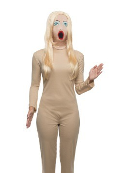 Adult Fabric Sexy Doll Mask