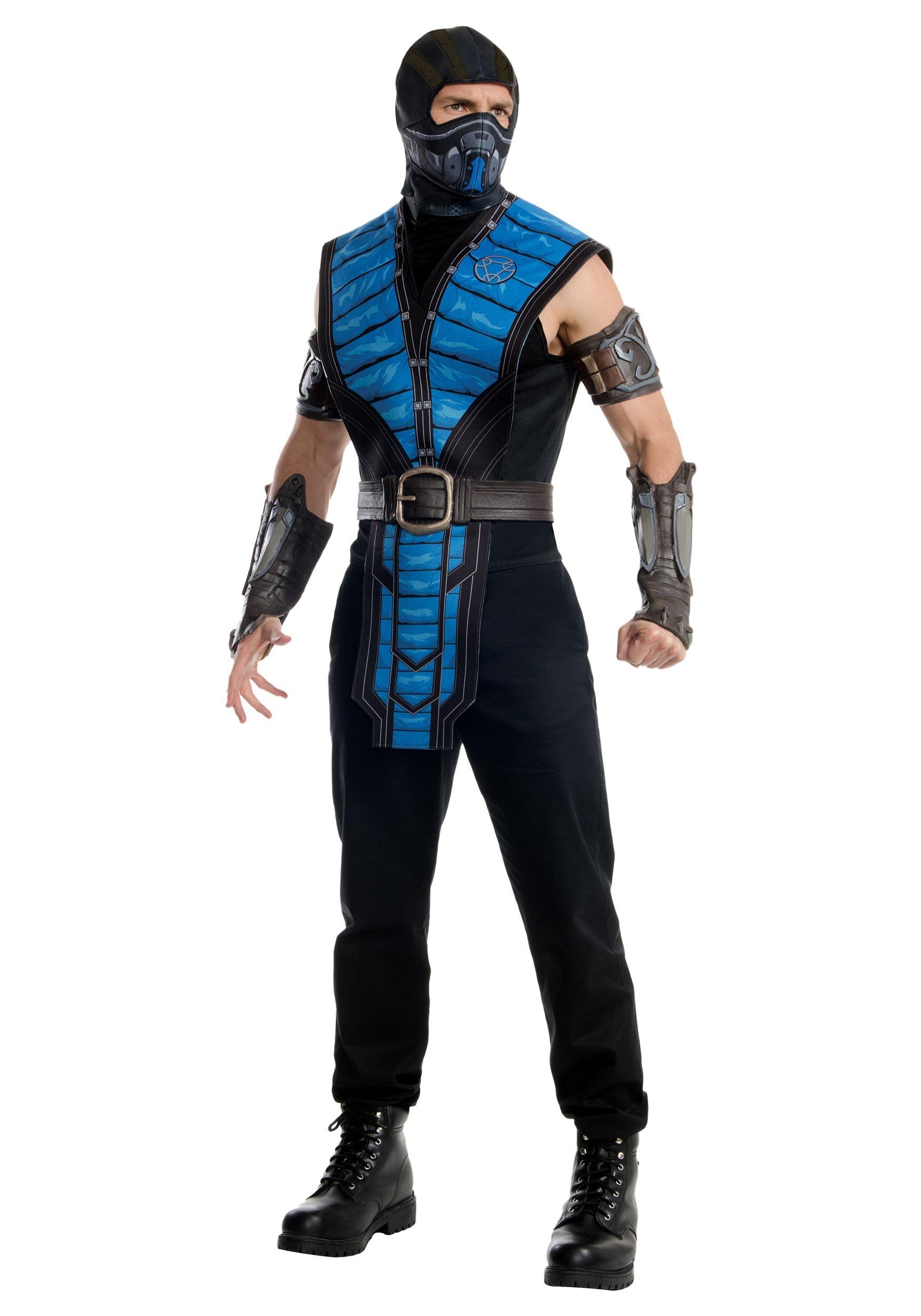 mortal kombat x adult subzero costume