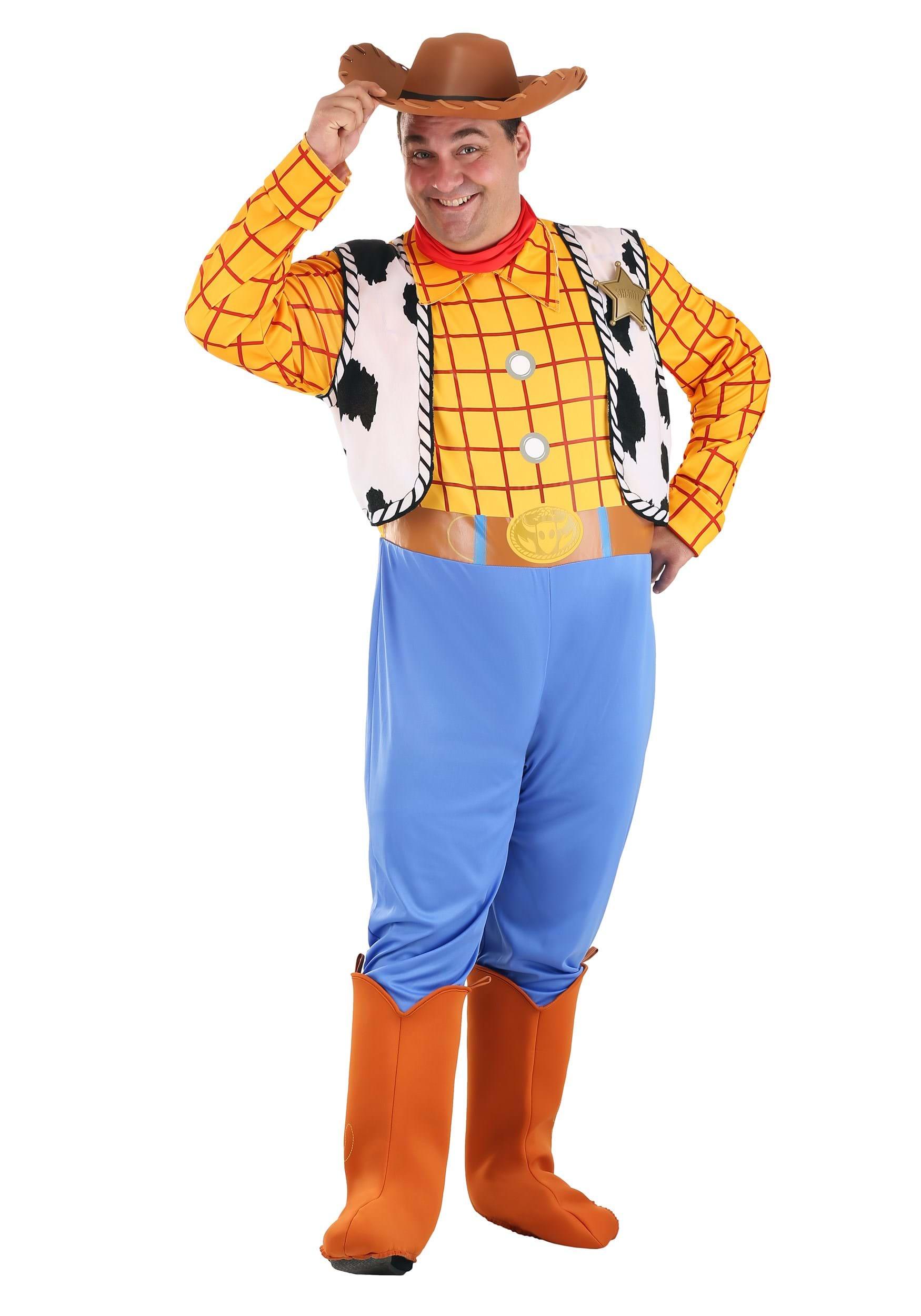 Adult Woody Costume  sc 1 st  Halloween Costumes UK & Toy Story Costumes - Adult Kids Disney Halloween Costume