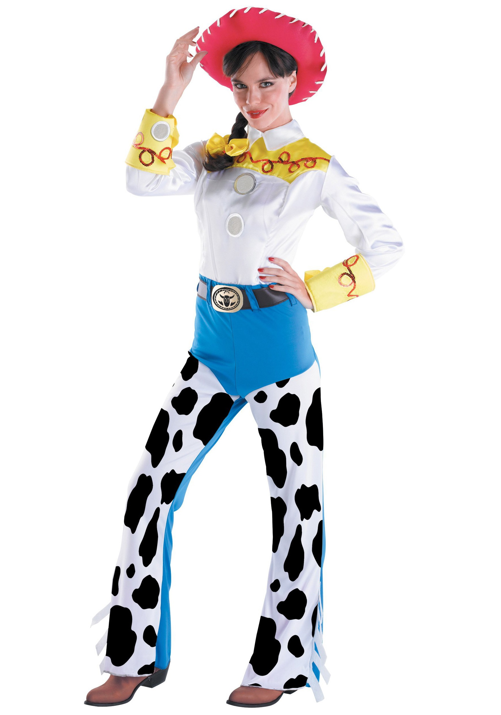 Toys For Halloween : Adult toy story jessie costume