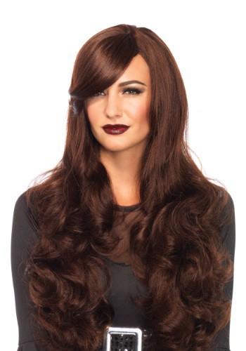 Brown Long Wavy Wig