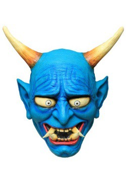 Blue Oni Demon Adult Mask