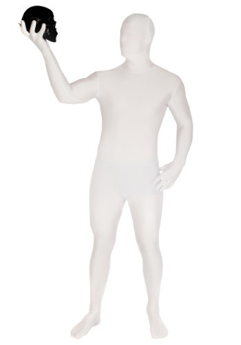 Adult White Morphsuit
